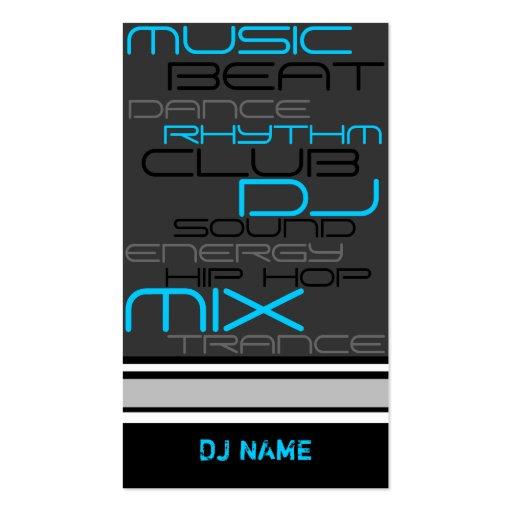 PREMIUM DJ Business Card
