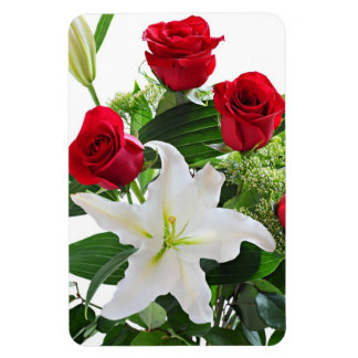 Premium Flexi Magnet with floral background