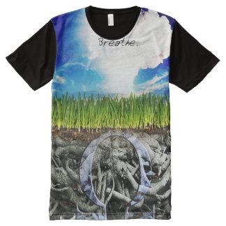 Premium Full Print Breathe Vape Shirt All-Over Print T-Shirt