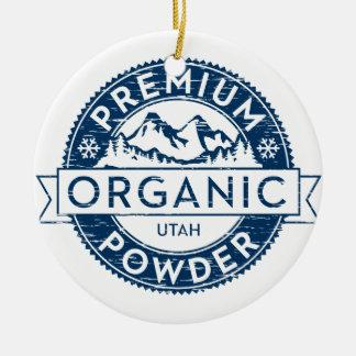 Premium Organic Utah Powder Ornament