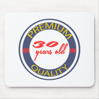 Premium quality 30 years old mousepad
