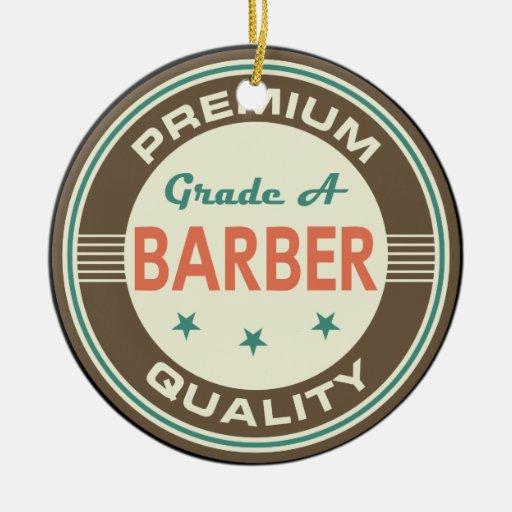 Premium Quality Barber (Funny) Gift Christmas Tree Ornament