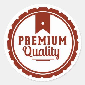 Premium Quality Classic Round Sticker