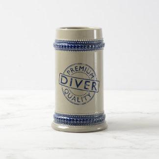 Premium Quality Diver Beer Stein