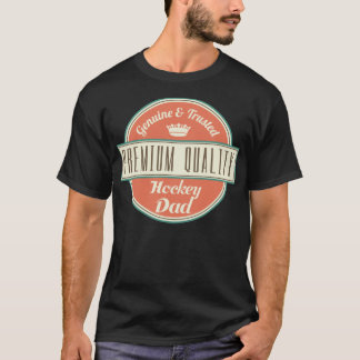 Premium Quality Hockey Dad (Funny) Gift T-Shirt