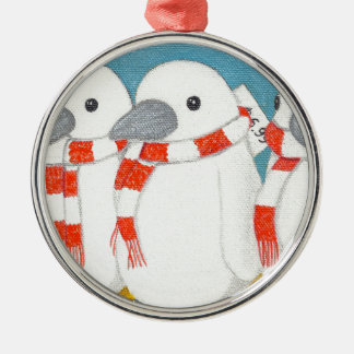 "Premium Round Ornament ""Take me home with you"""