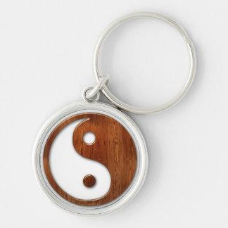 Premium Round Yin Yang Keychain