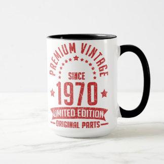 premium vintage 1970 limited edition original part mug