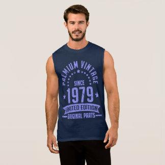 premium vintage 1979 limited edition original part sleeveless shirt