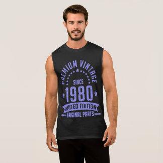 premium vintage 1980 limited edition original part sleeveless shirt