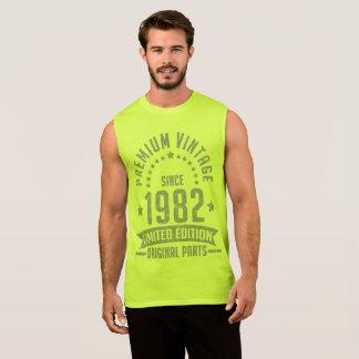 premium vintage 1982 limited edition original part sleeveless shirt