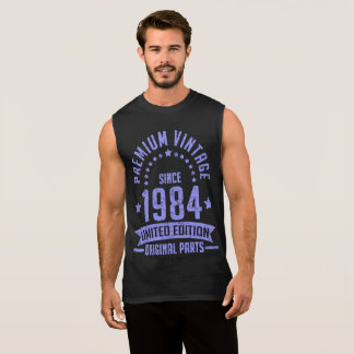 premium vintage 1984 limited edition original part sleeveless shirt