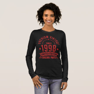 premium vintage since 1998 limited edition long sleeve T-Shirt