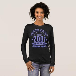 premium vintage since 2001 limited edition origina long sleeve T-Shirt