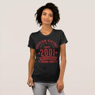 premium vintage since 2001 limited edition origina T-Shirt