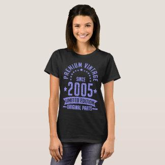 premium vintage since 2005 limited edition origina T-Shirt
