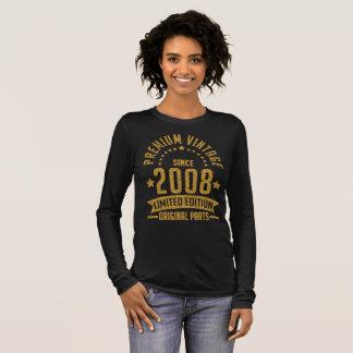 premium vintage since 2008 limited edition origina long sleeve T-Shirt