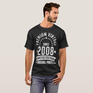 premium vintage since 2008 limited edition origina T-Shirt