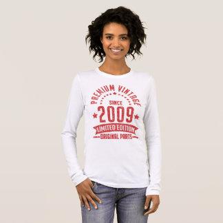 premium vintage since 2009 limited edition origina long sleeve T-Shirt
