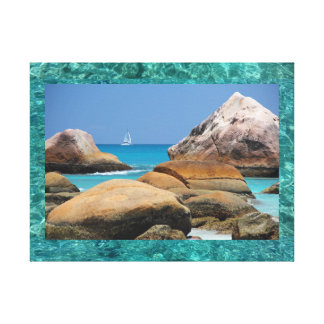 Premium Wrapped Canvas (Gloss) Sea View