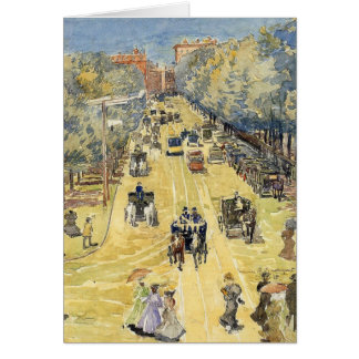 Prendergast - Charles Street, Boston Card