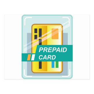 Prepaid Card Postcard