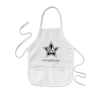 Prepare a Good Game At Dominoes Stars Kids Apron