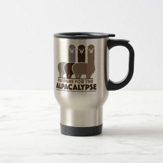 Prepare For The Alpacalypse Stainless Steel Travel Mug