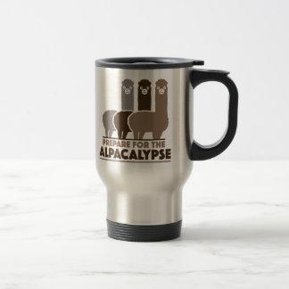 Prepare For The Alpacalypse Travel Mug