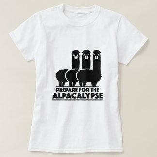 Prepare For The Alpacalypse Tshirt