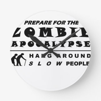 Prepare for the zombie round clock