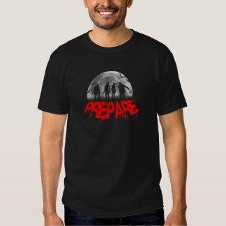 Prepare T Shirts