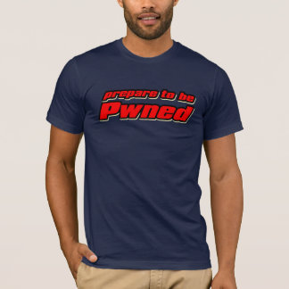 Prepare to be Pwned (racer) T-Shirt