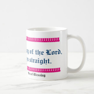 """Prepare ye the way of the Lord"" Scripture Mug"