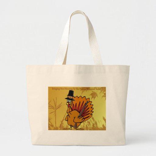 prepared-turkey tote bags