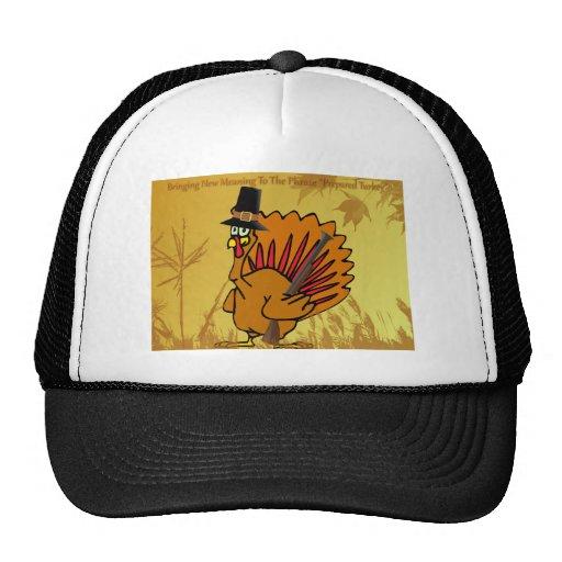prepared-turkey mesh hat