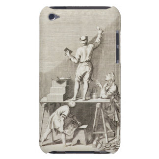 Preparing a wall for fresco painting (engraving) Case-Mate iPod touch case