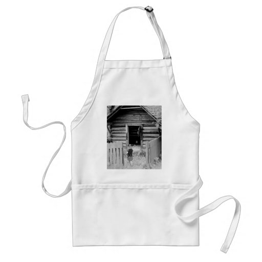 Preparing for Spring Cleaning Apron