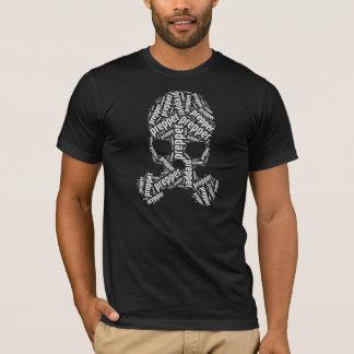 Prepper Skull Gas Mask T-Shirt
