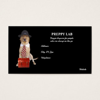 Preppie Lab Business Card