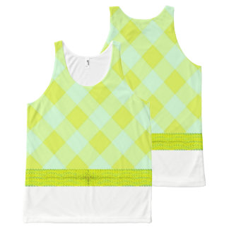 Preppie*-Pool-House-Argyle-Lime-Blue_Casual All-Over Print Singlet