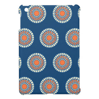 Preppy arabesque polka dot dots tribal pattern iPad mini covers