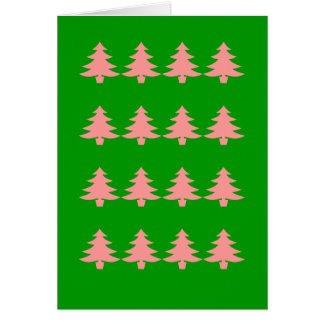 PREPPY CHRISTMAS TREES CARD