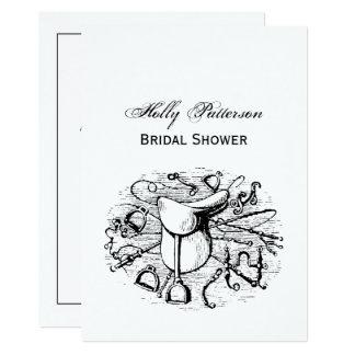 Preppy Equestrian Horse Tack Saddle Bridal Bits Card