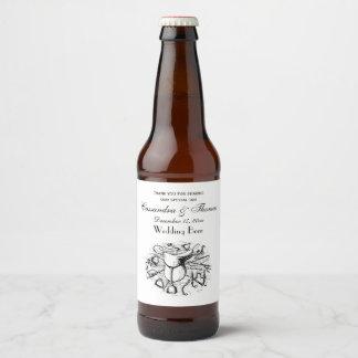 Preppy Equestrian Horse Tack Saddle Bridle Bits Beer Bottle Label