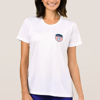 Preppy Football Badge. T-Shirt