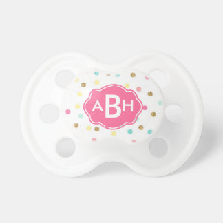 Preppy Monogram Pacifier