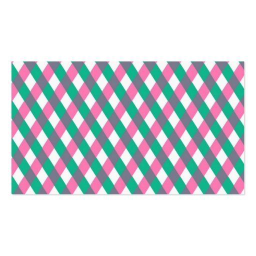 Preppy Pattern Business Card