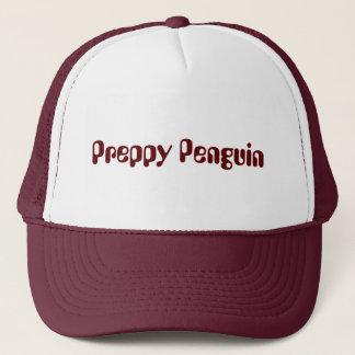 Preppy Penguin Trucker Hat