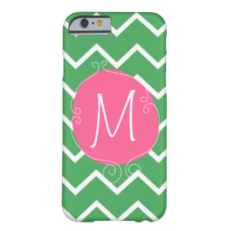 Preppy Pink Green Case -Mate iPhone 6 case Mally M Barely There iPhone 6 Case